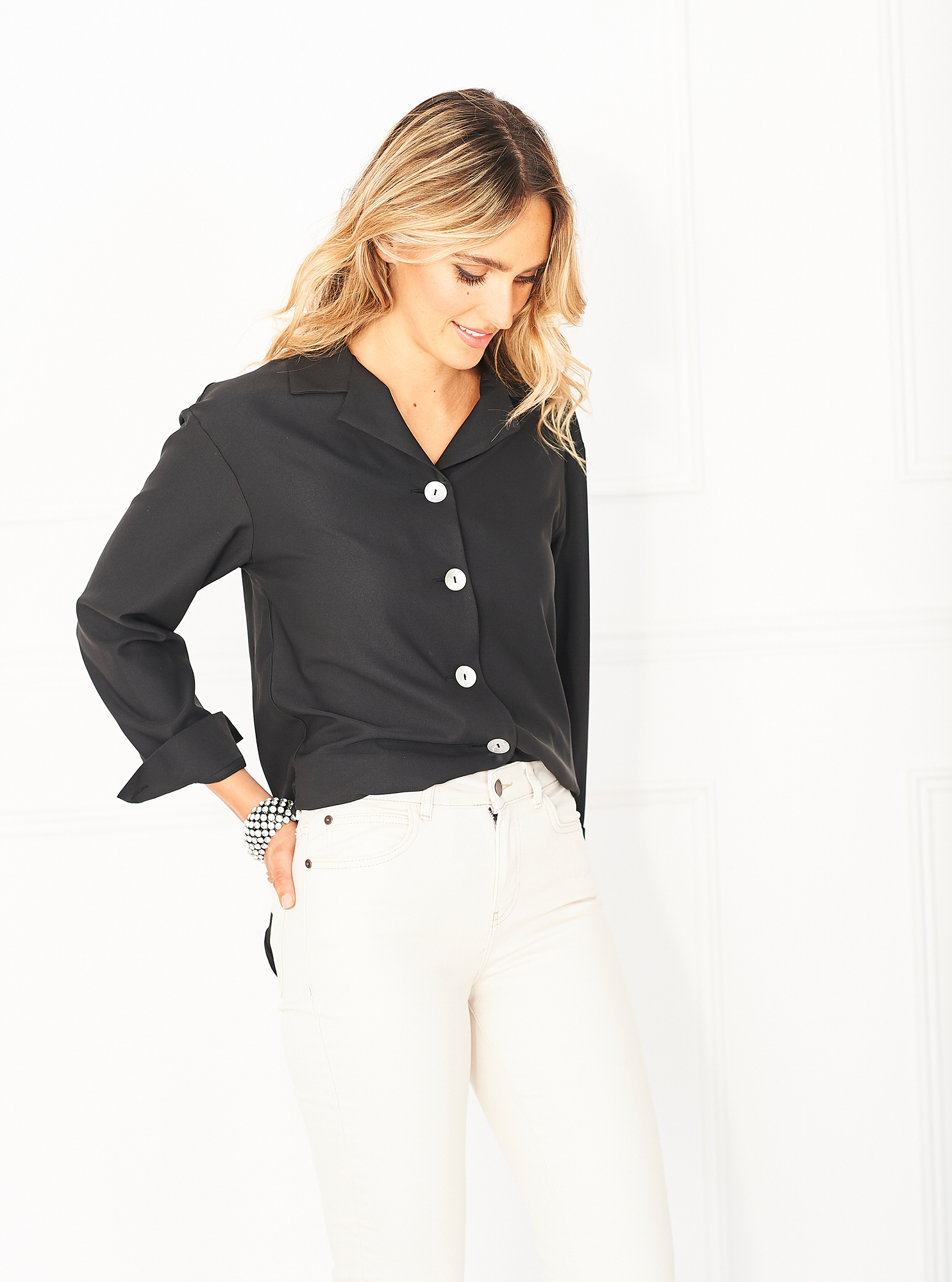 The versatile shell button pyjama top from Cucumber
