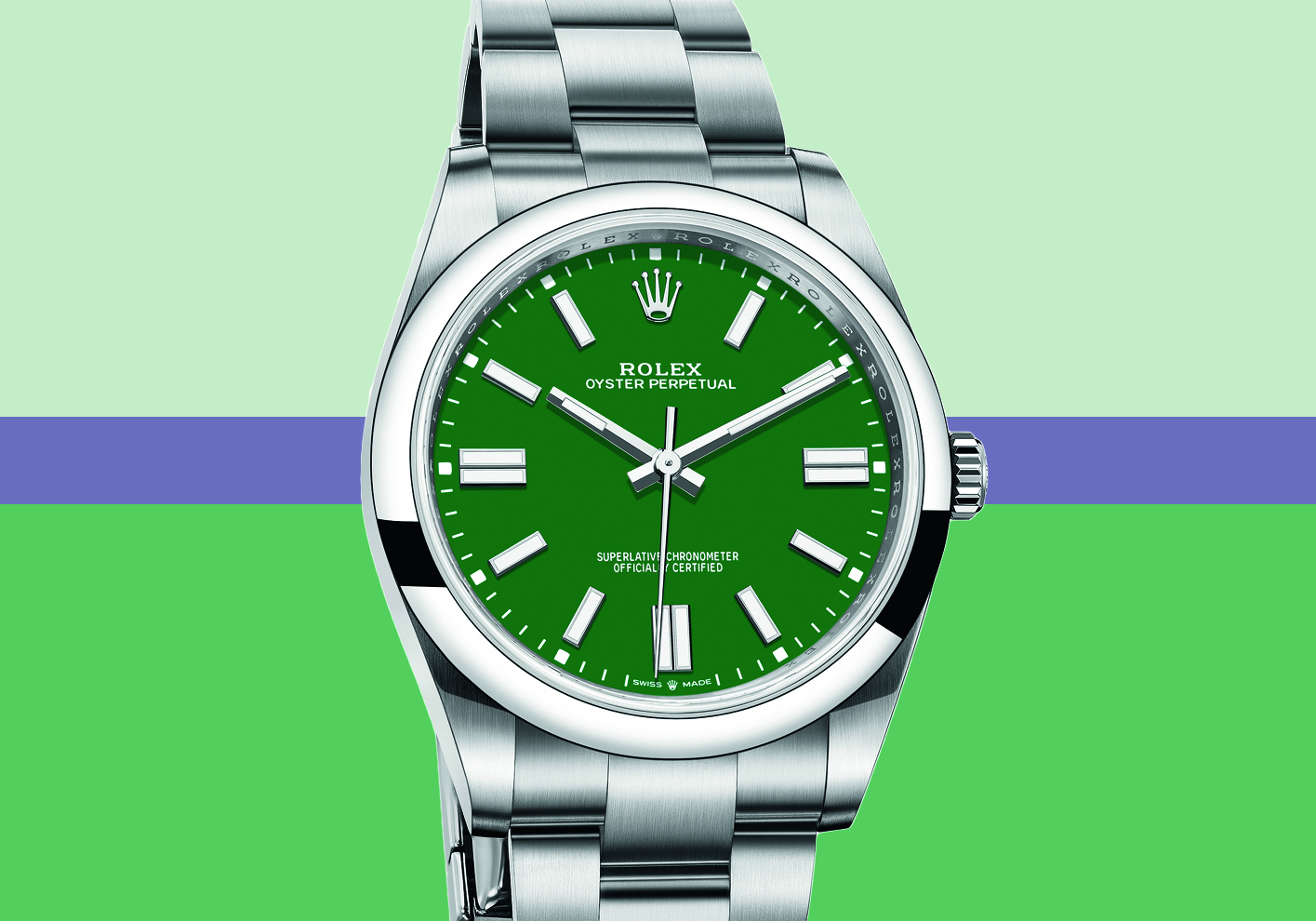 Oyster Perpetual 36, £4,450 (Oyster Perpetual range from £4,050)