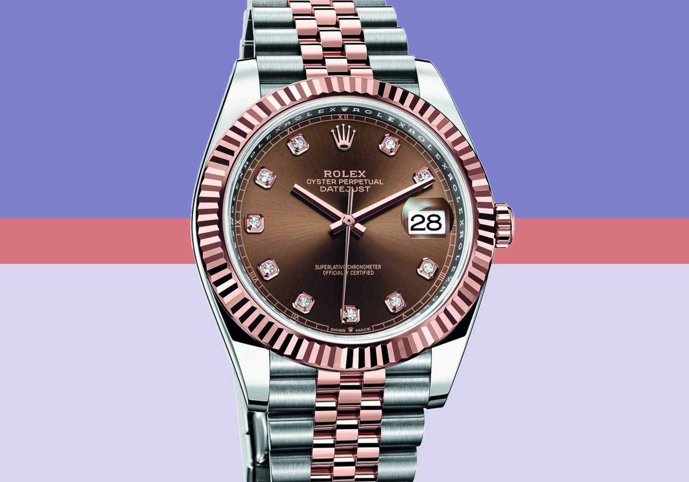 Rolex Datejust 41 Oystersteel and 18ct yellow gold, £12,450 (Datejust 41 range, from £6,150)