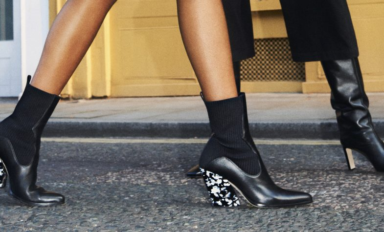 Jimmy Choo's winter boots combine style and comfort
