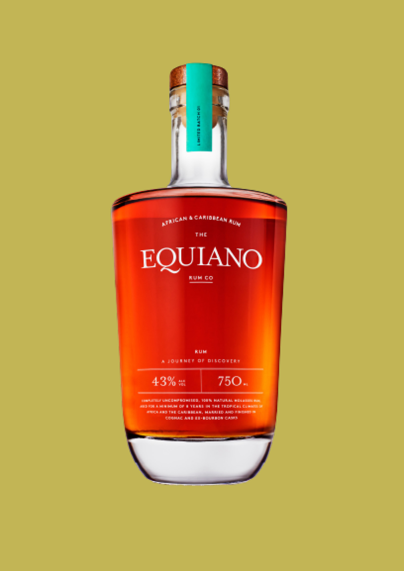 Equiano is a unique blend of African and Caribbean rum expertise