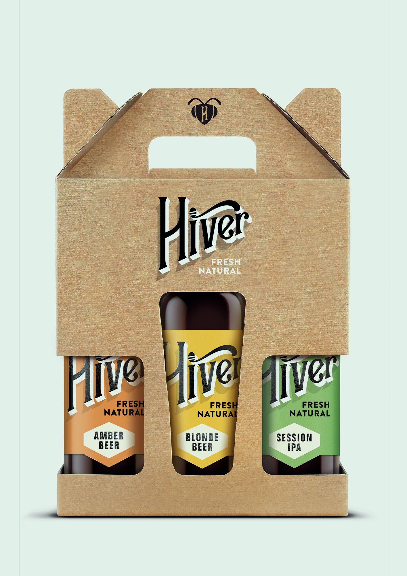 The Hiver range of beers