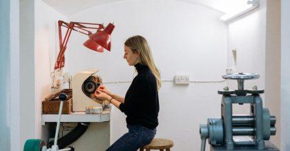 Jewellery designer Jessie Thomas