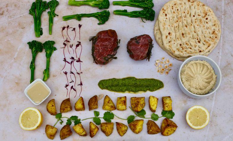 The Ceru beef fillet meal kit