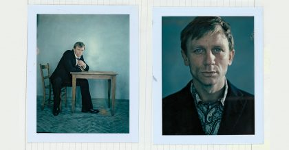 Daniel Craig features in the Power Of The Polaroid, a new book by Jo Hambro