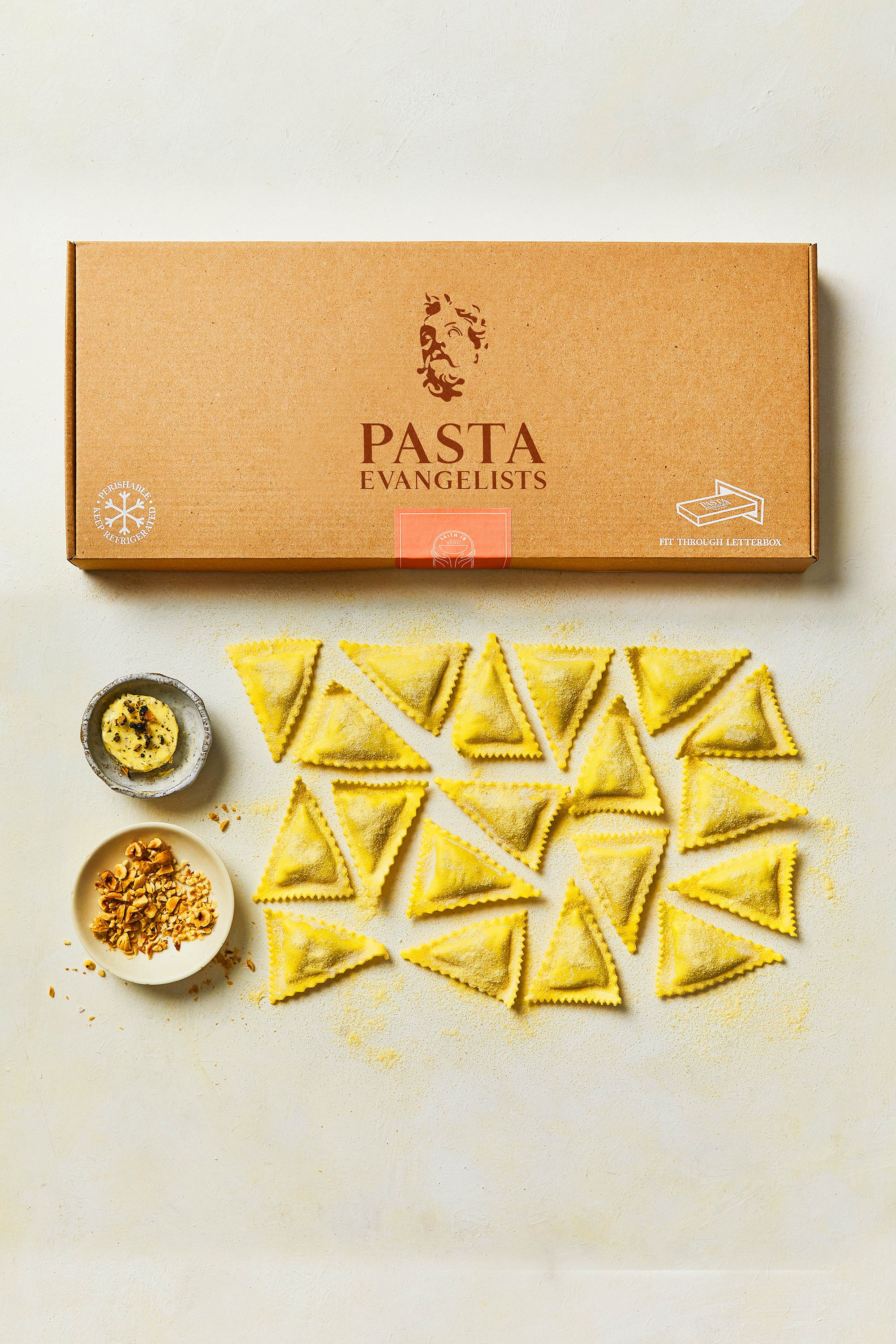 Pasta Evangelists offers a selection of delicious vegan options
