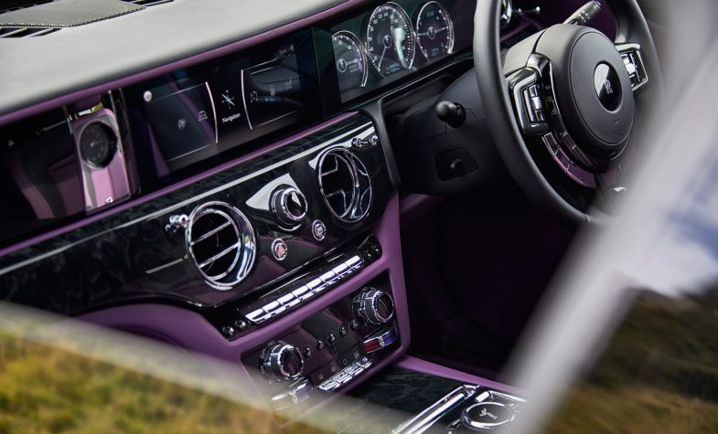 The interior of the new Rolls-Royce Ghost