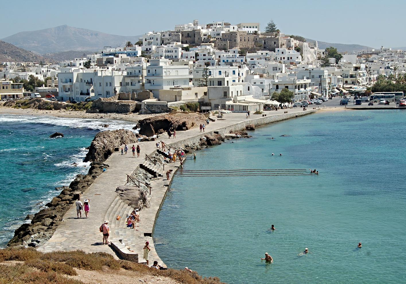 Margarita Skarkou grew up on the island of Naxos, Greece. Photograph: Chris Barbalis