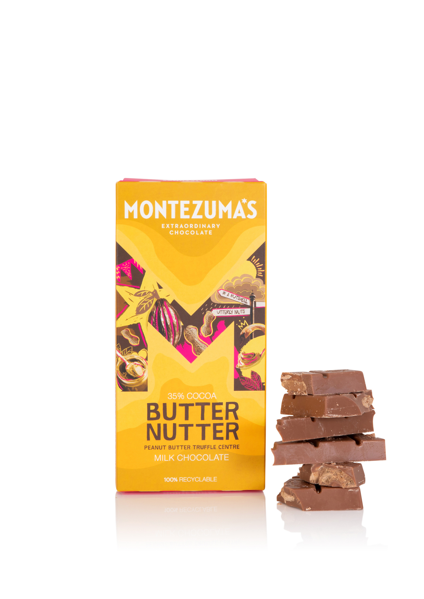 Montezuma's Butter Nutter, a favourite of Helen Pattinson