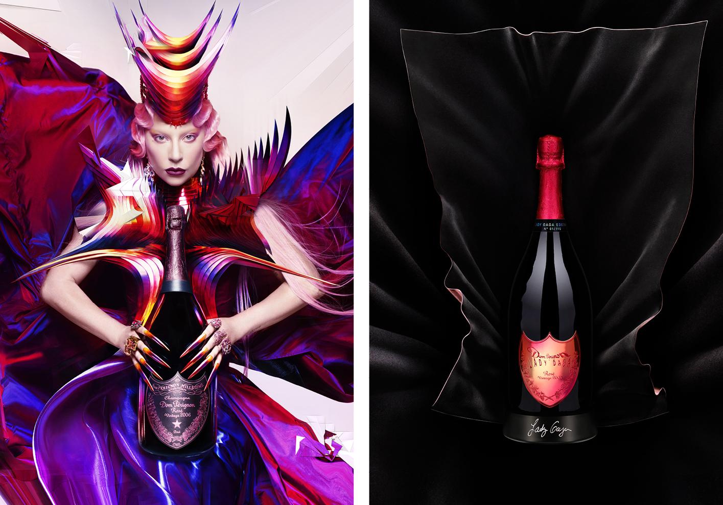 Dom Pérignon and Lady Gaga