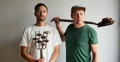 The Exploding Bakery founders