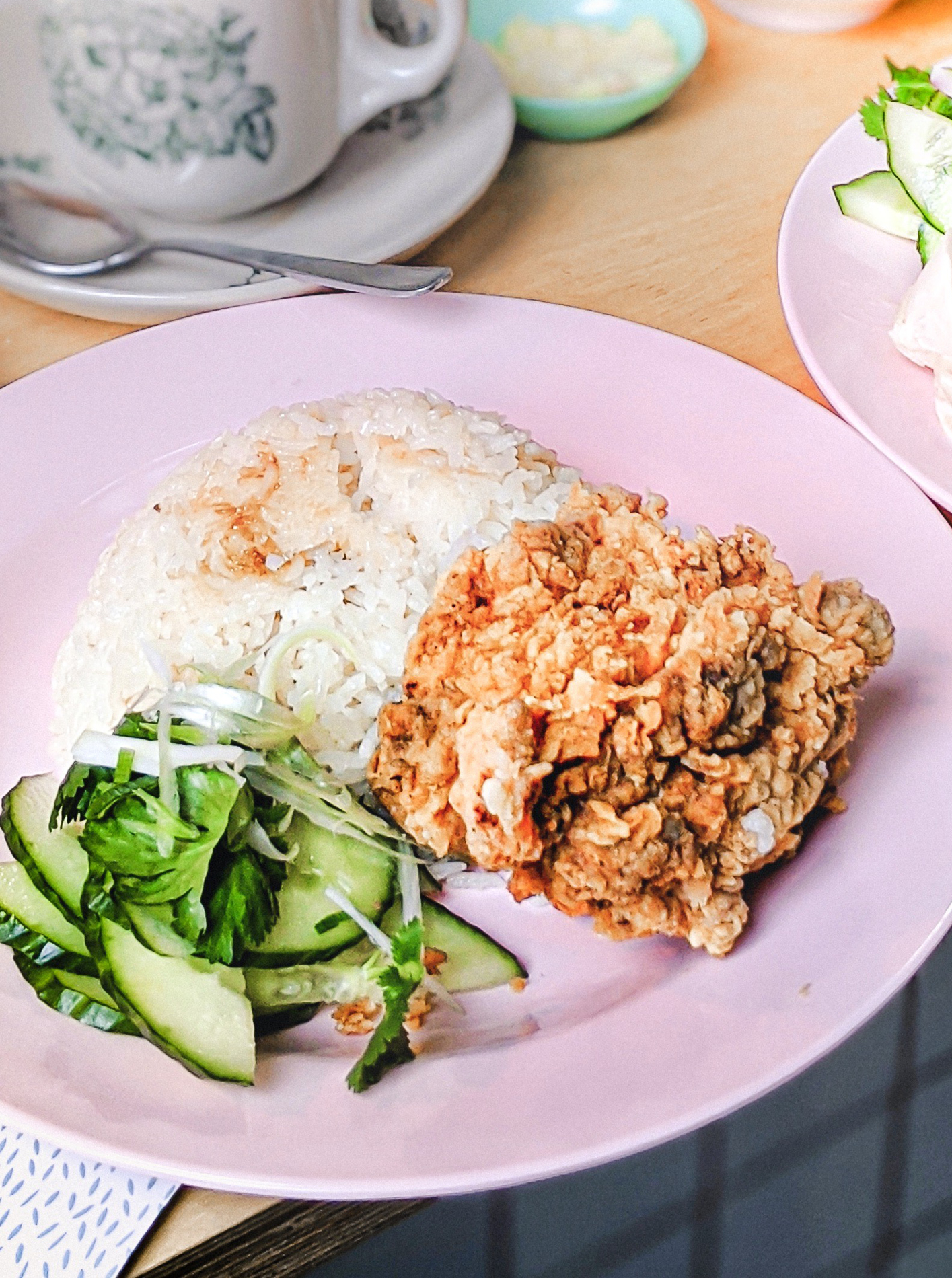 Hainanese chicken at Mei Mei, image courtesy of Sam Harris