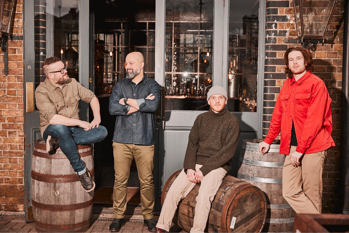 The founders of East London Liquor Company