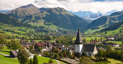 Gstaad is a luxury destination all year round