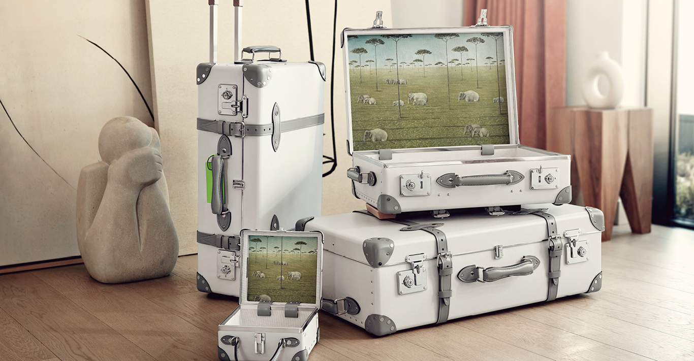 The Globe-Trotter Elephant Family collection
