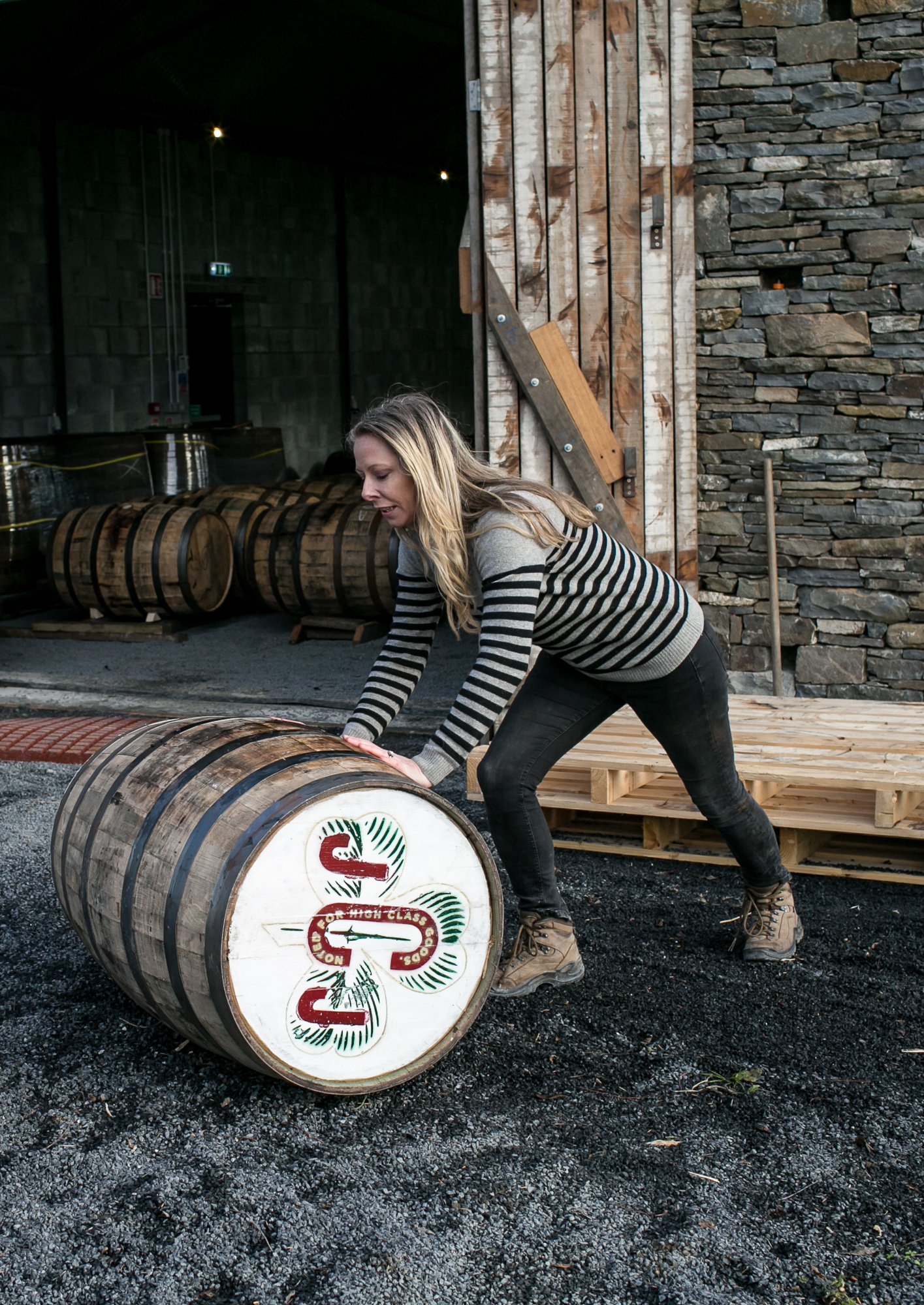 JJ Corry sources spirits from select Irish distilleries to mature it in its own bonded rackhouse