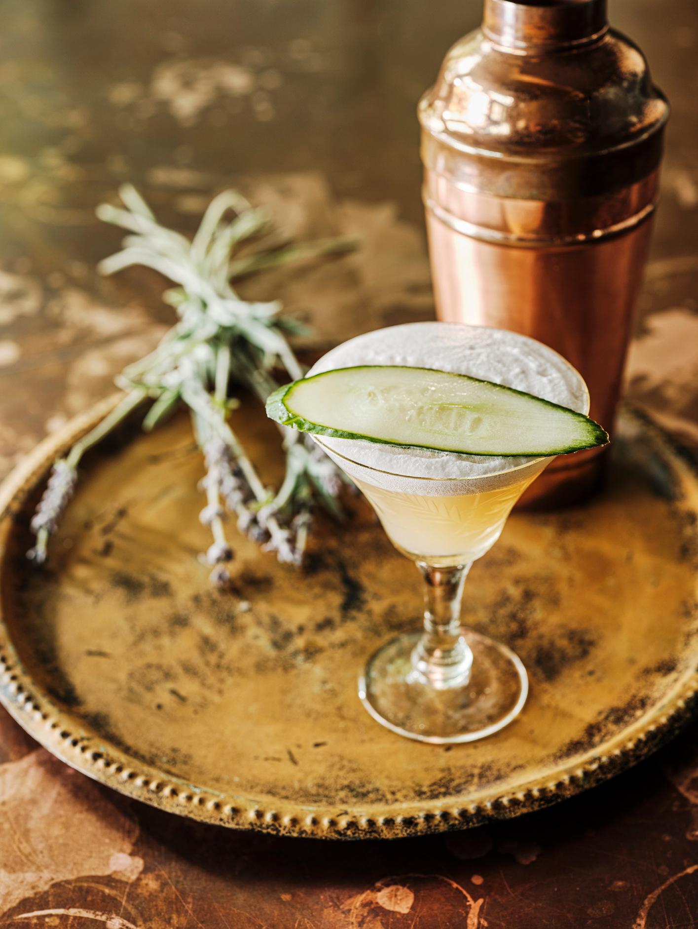 The Alchemist Garden Martini