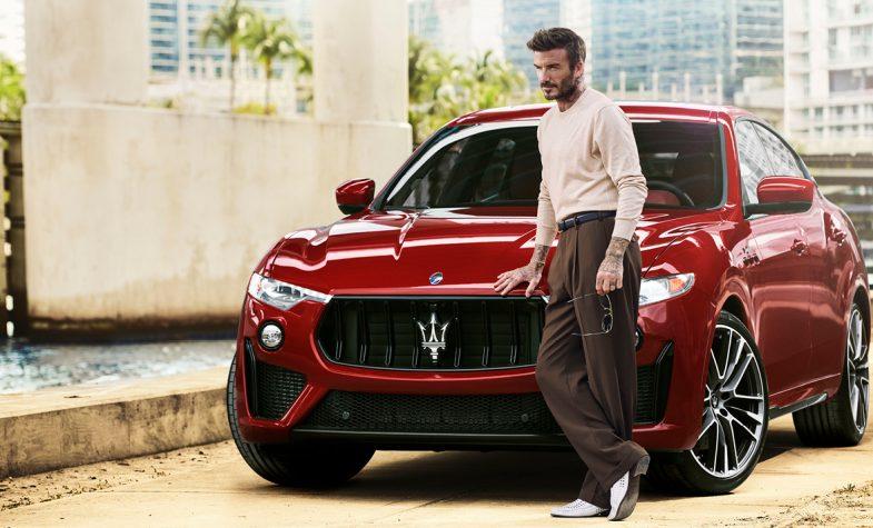 David Beckham is the new Maserati global ambassador