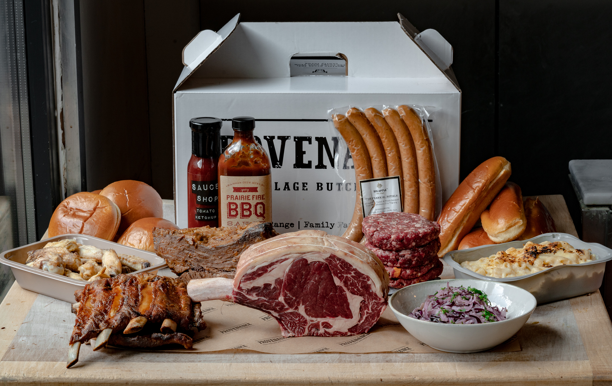 A box from Provenance Village Butcher