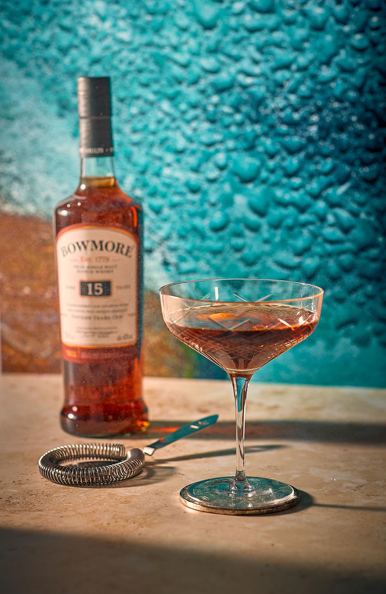 Solas serves original and delicious Bowmore cocktails