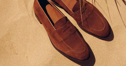The Edward Green Piccadilly Unlined loafer