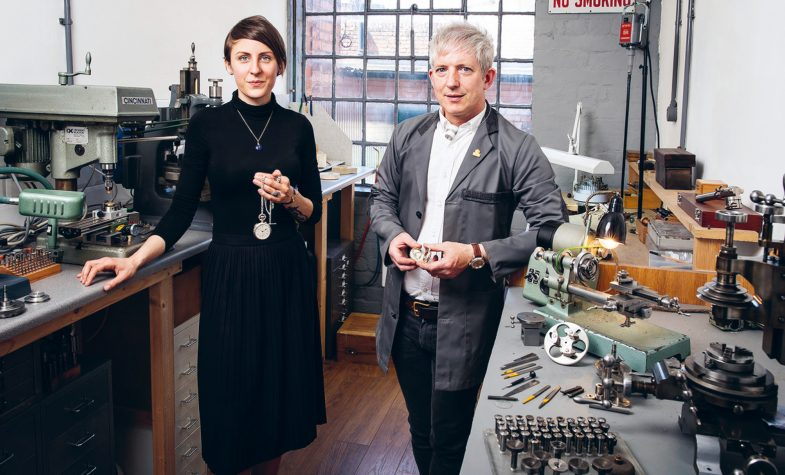 Watchmakers Craig and Rebecca Struthers