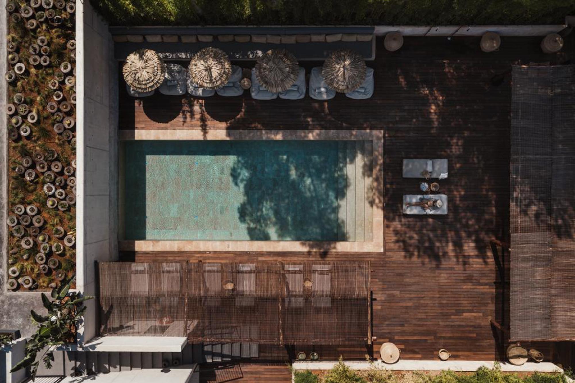OKU Ibiza, the location of the Sah D'Simone retreat in July