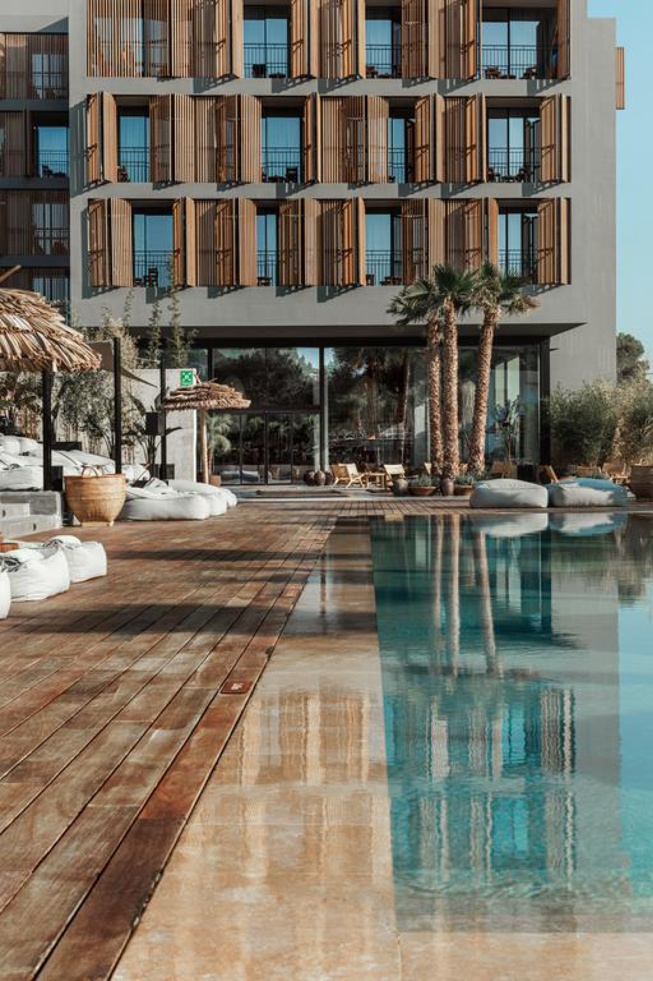 The Balearic beauty of Ibiza, the home for D'Simone's upcoming retreat