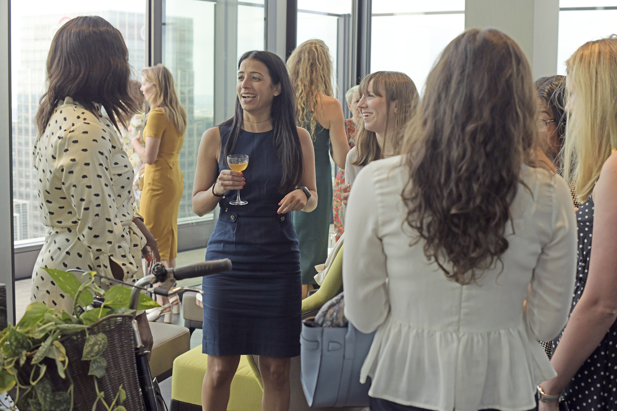 Women of Brummell attended the event at Wardian London