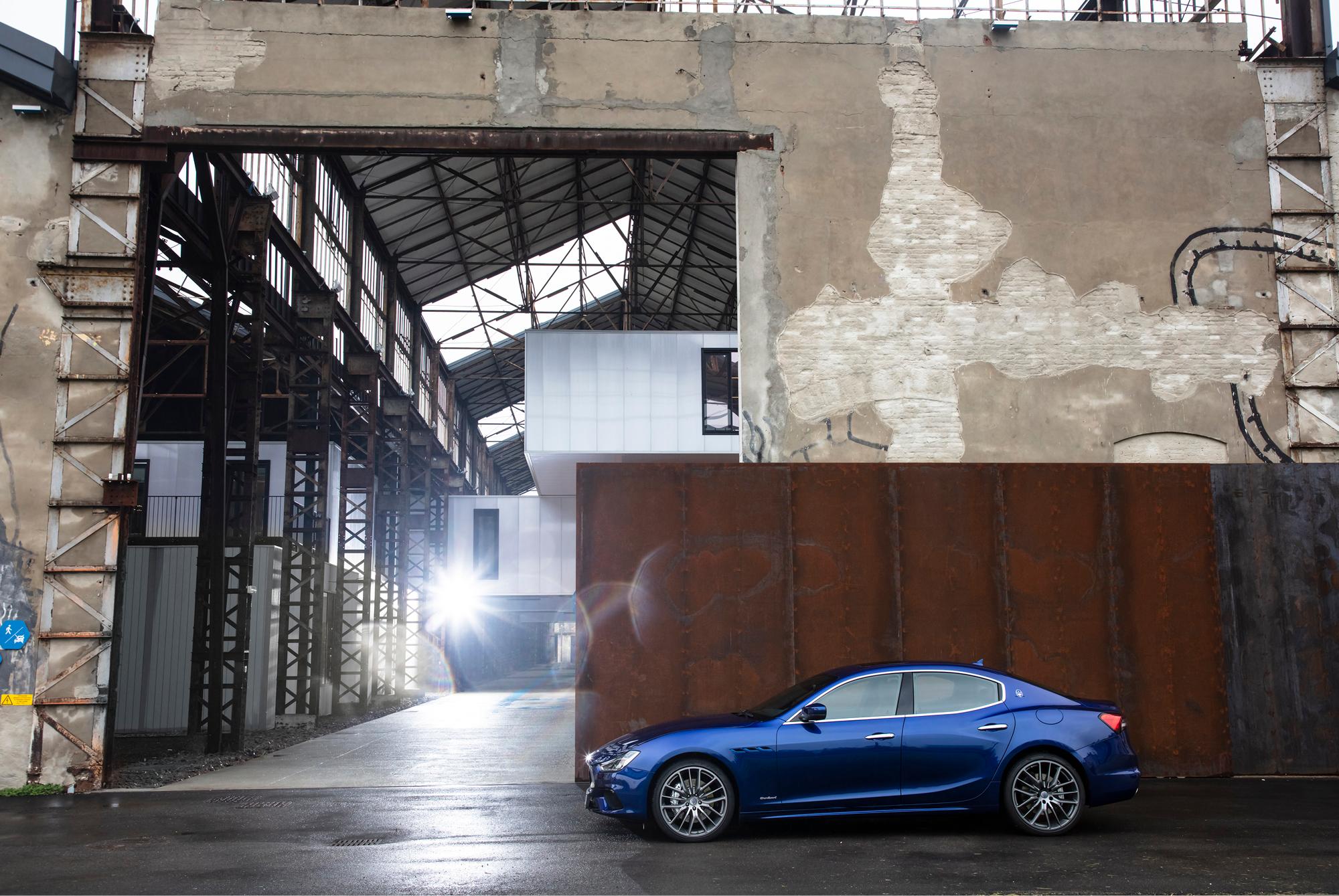 The Maserati Ghibli Hybrid