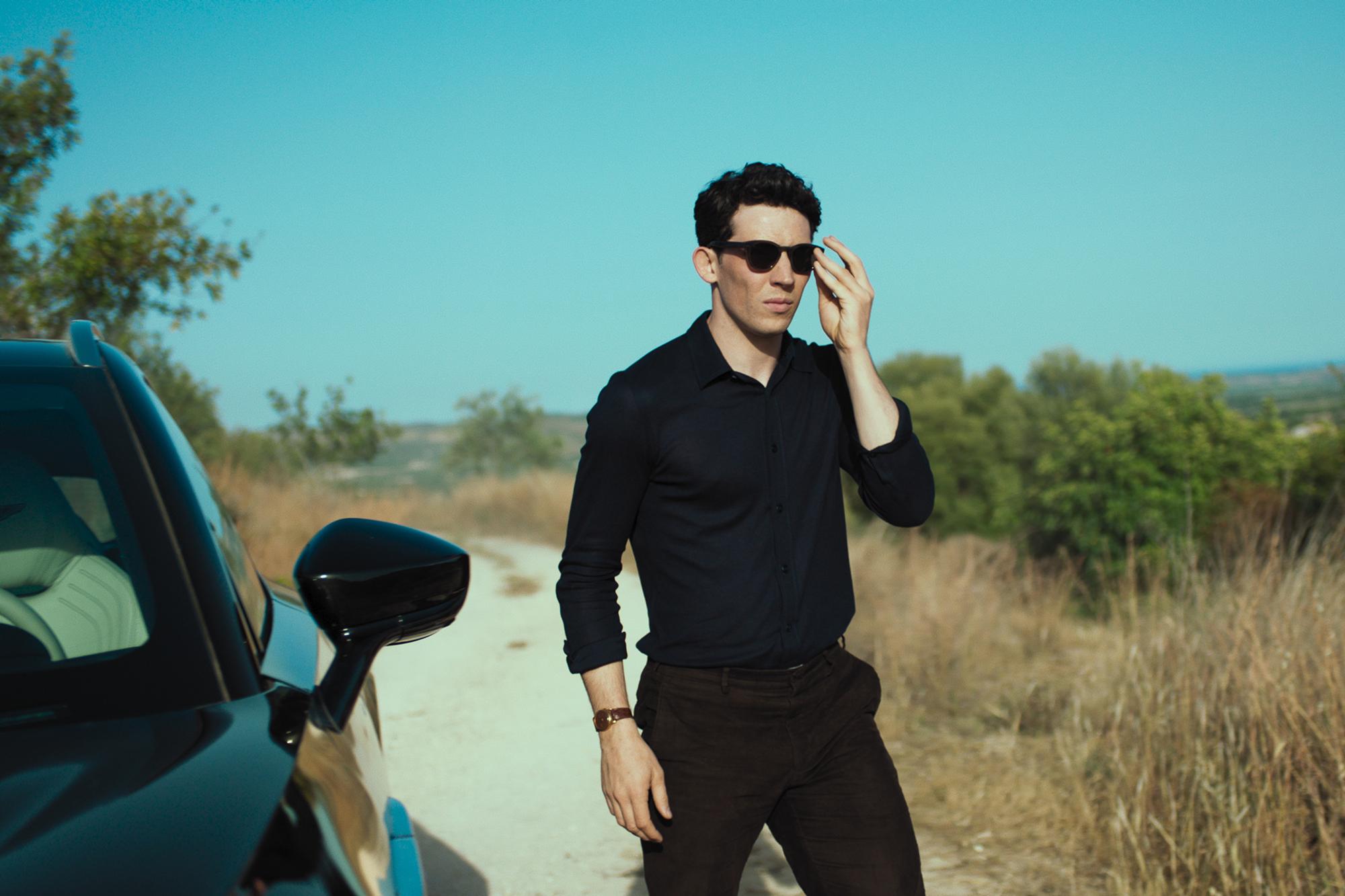 Josh O'Connor stars in the new Luca Guadagnino-directed film to launch the Aston Martin DBX