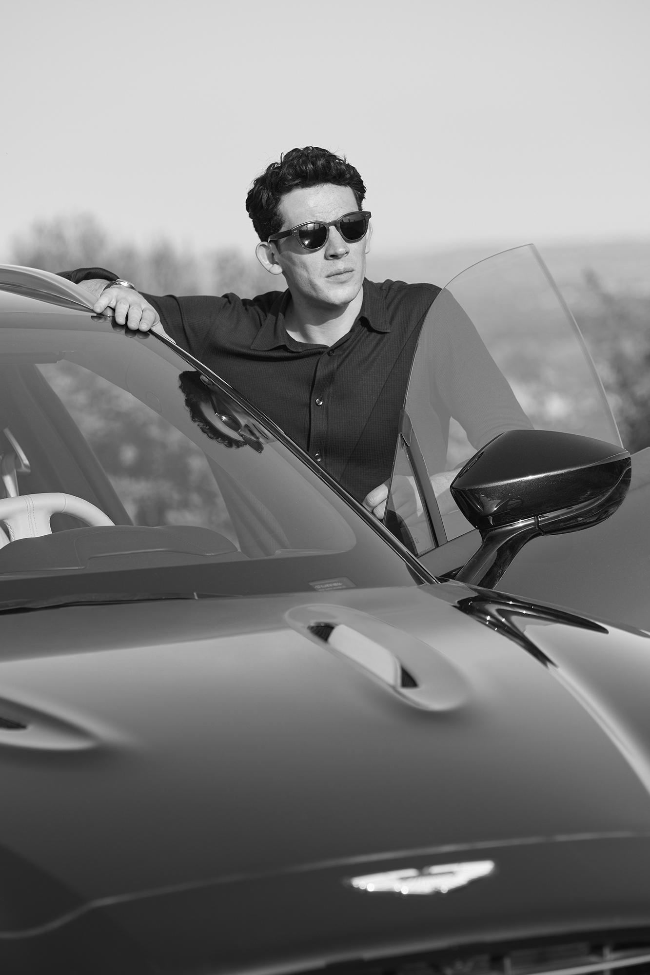 Josh O'Connor in the new Aston Martin DBX film