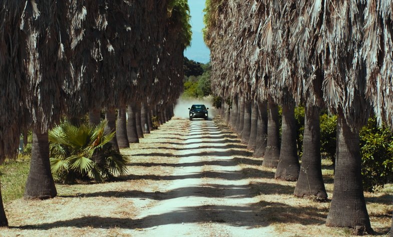 The new Aston Martin DBX film directed by Luca Guadagnino
