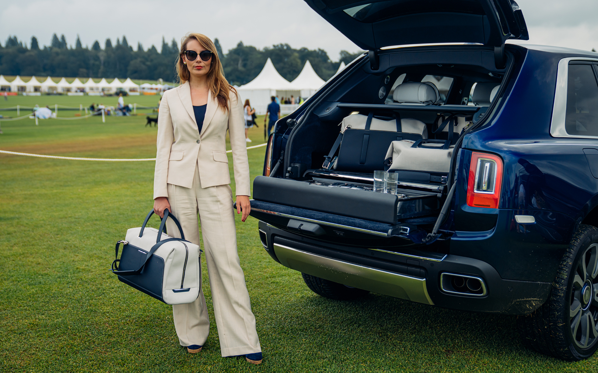 Jemima Wilson tries out Rolls-Royce's new SUV