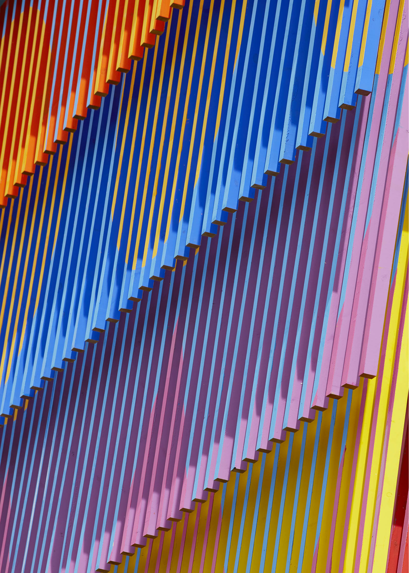 Colour Palace by Yinka Ilori in East Dulwich