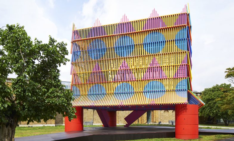 Yinka Ilori's Colour Palace is a hint of what he will do to transform Tottenham Court Road into the UK's largest outdoor public artwork