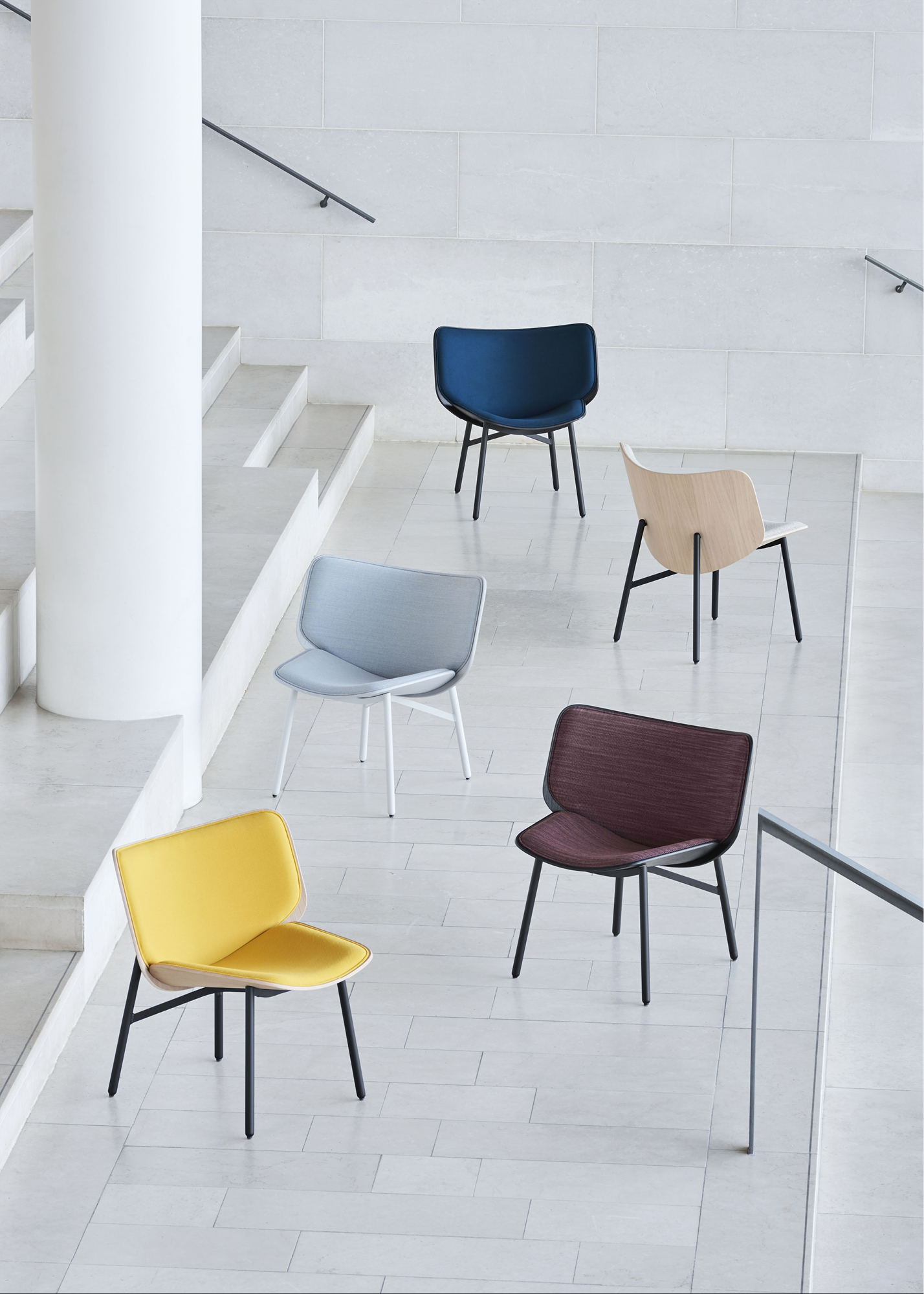 Dapper lounge chairs by HAY in the Shoreditch design district