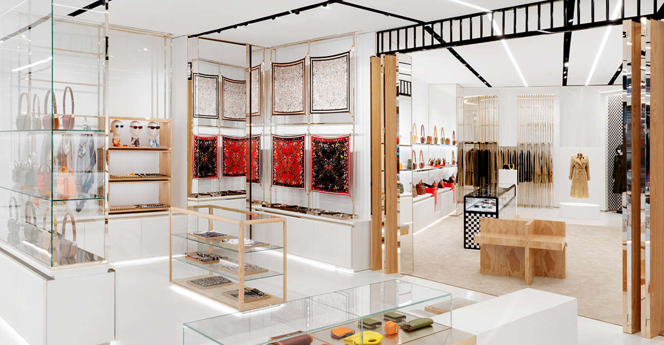 Burberry's new flagship store at No. 1 Sloane Street