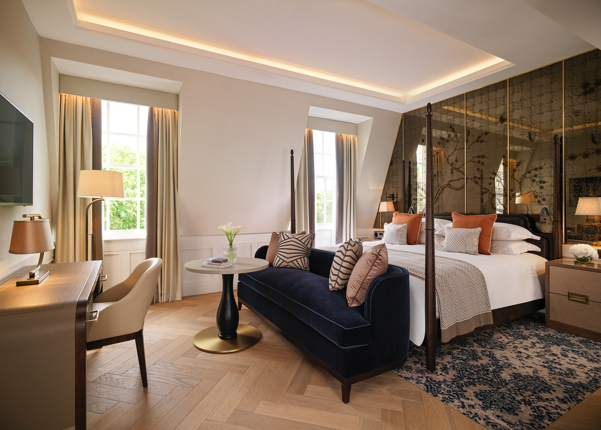 The Biltmore Grosvenor Square View Suite has impressive views over Regency Mayfair