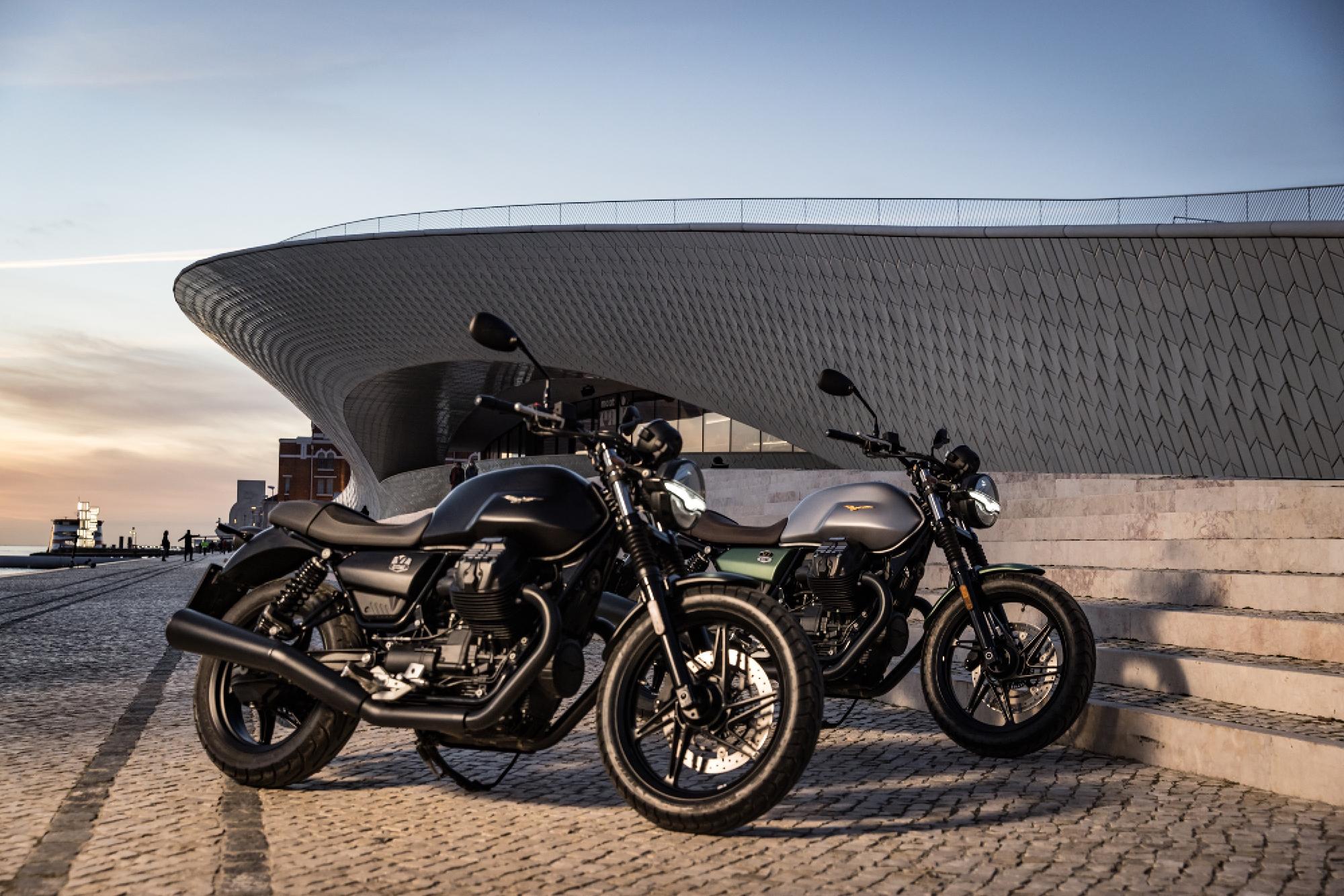 The new Moto Guzzi V7 Stone