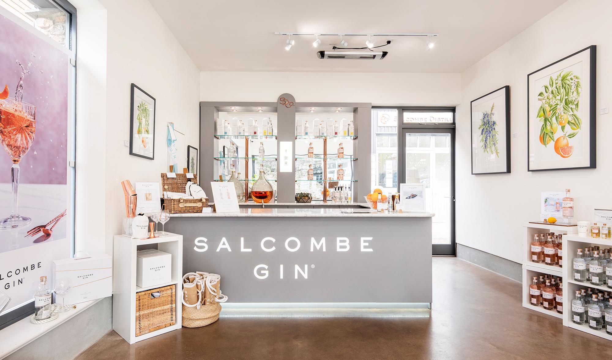 Salcombe Distillery Co's store in Salcombe
