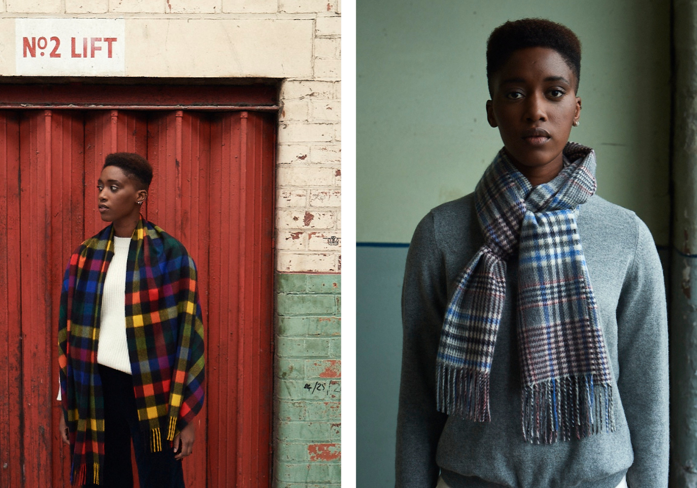 Joshua Ellis weaves the finest scarves, stoles and throws