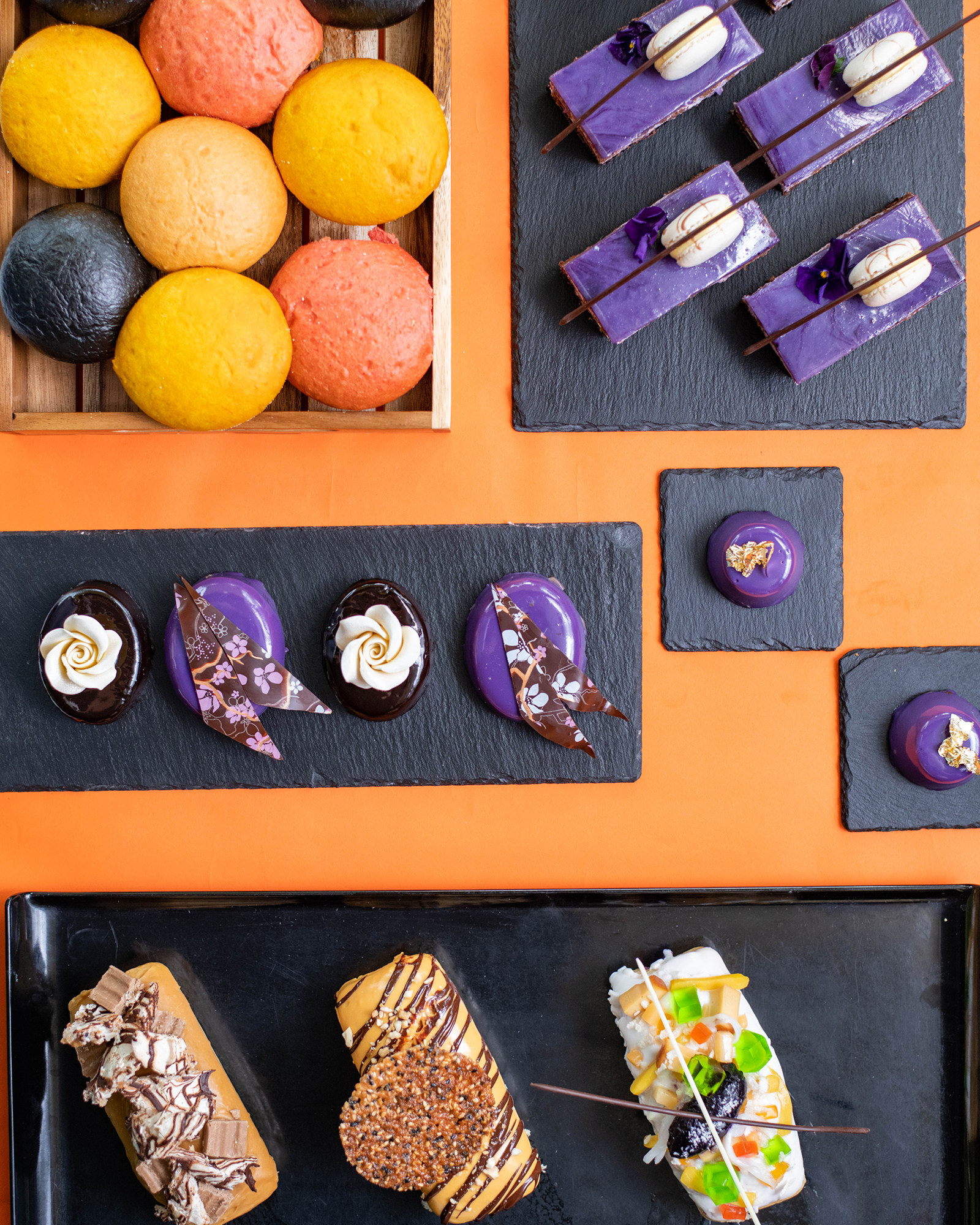 Delicate patisserie will be central to Kasa and Kin, including treats made with ube, or purple yam