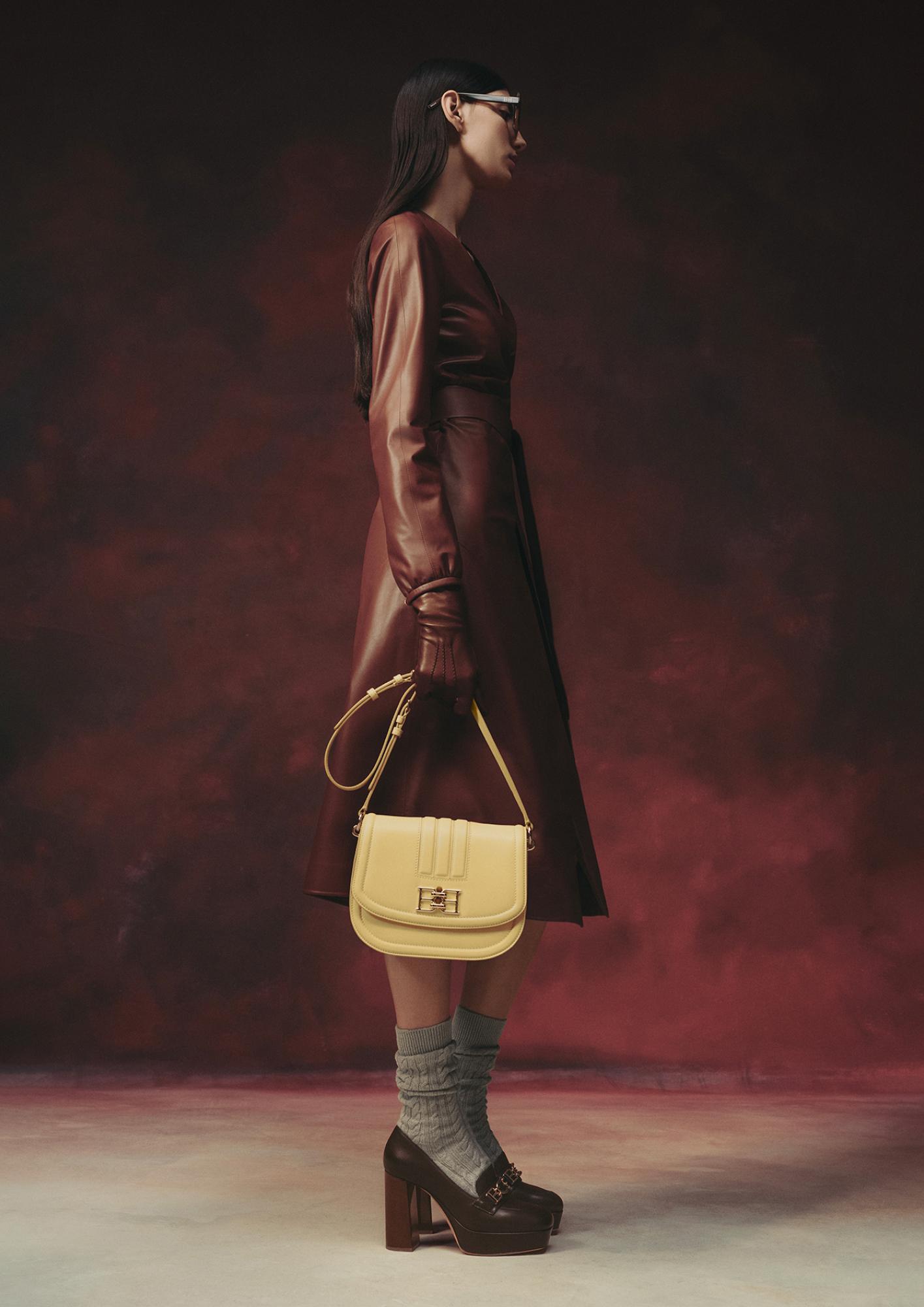 Bally AW21 leather coat