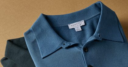 Sunspel Polo Shirts are crafted in Sea Island cotton