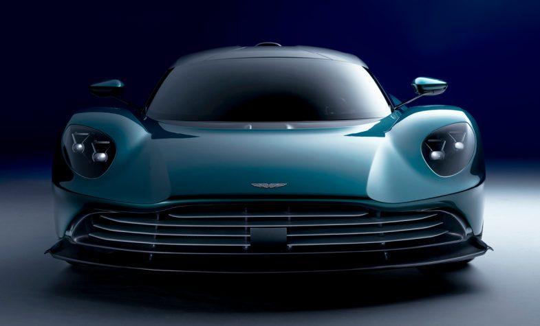 The Aston Martin Valhalla plug-in hybrid electric car