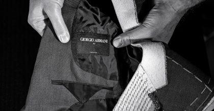 Giorgio Armani has expanded his Made to Measure service