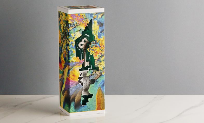 Zoll's artwork adorns No3 boxes