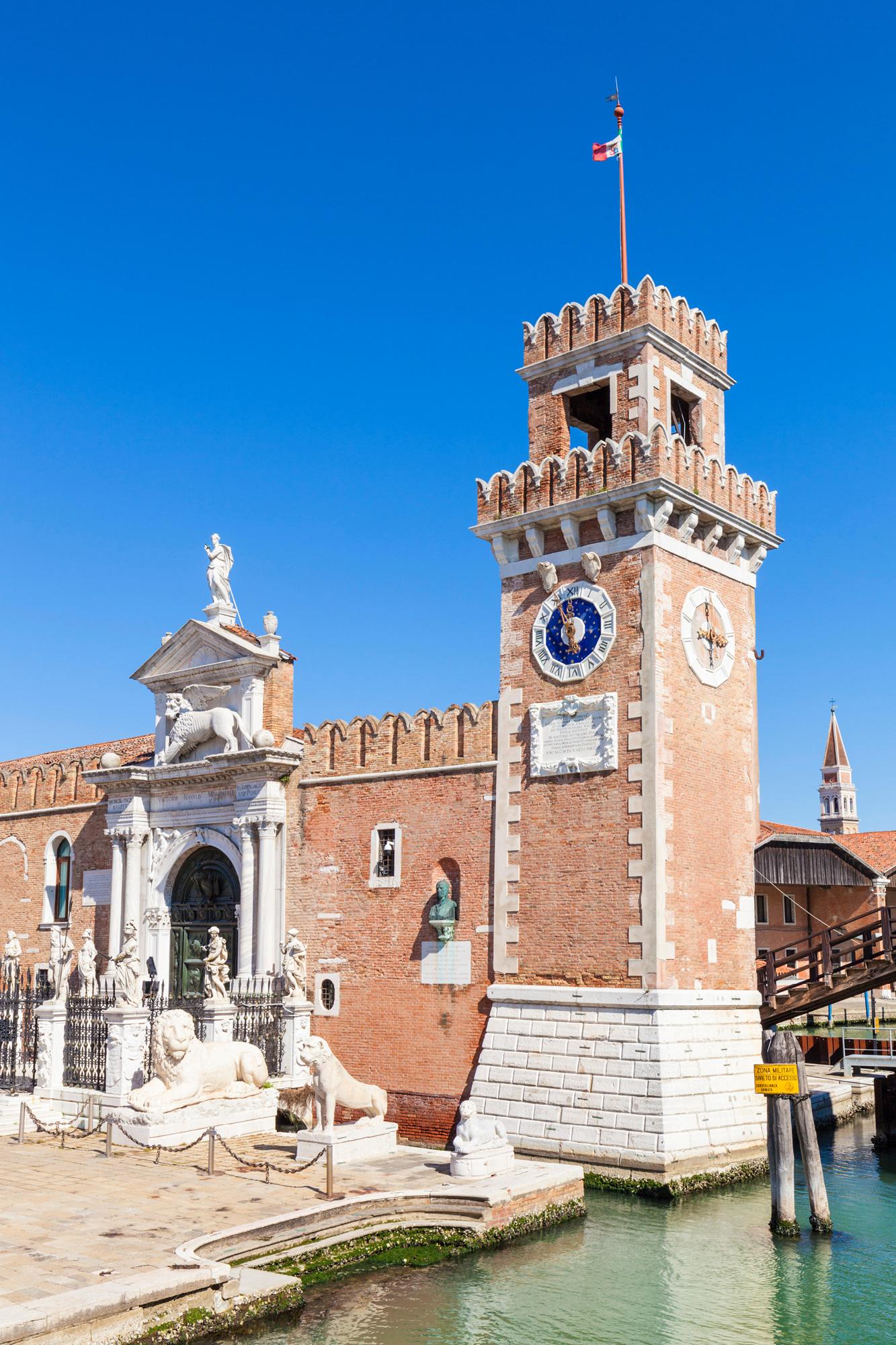 Porta Magna, the Arsenale di Venezia's land gate